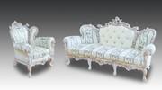 Диваны и кресла в стиле  барокко .Продажа мягкой мебели ручной работы.