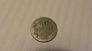 Польская Серебреная монета  10 GROSZY (1840 года)