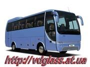 Автостекло триплекс,  лобовое стекло для автобусов Temsa