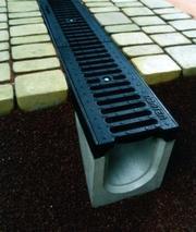 Система водовідведення,  водостоки,  бетонні жолуби Рівне
