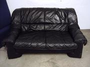 Кожаный диван,  мягкий уголок б/у из Германии в наличии или под заказ.