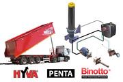 Гидравлика на бензовоз, тягач, манипулятор, лесовоз- гидрофикация грузово