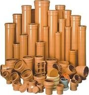 Трубы ПВХ и фитинги для наружной канализации Ровно