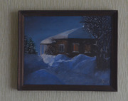 Картину продам  Зимний вечер продам
