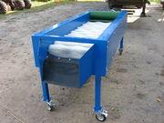 Щеточная машина для очистки овощей (картофель,  свекла,  сельдерей и т.д