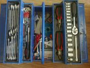 Набор инструмента в ящике,  36 предметов