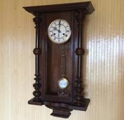 Антикварные настенные часы начала 20 века