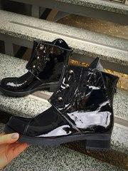 Ботинки демисезонные болты. Натуральная кожа. Доставка по Украине
